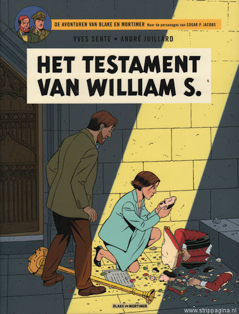 Blake en Mortimer:  24. Het testament van William S.