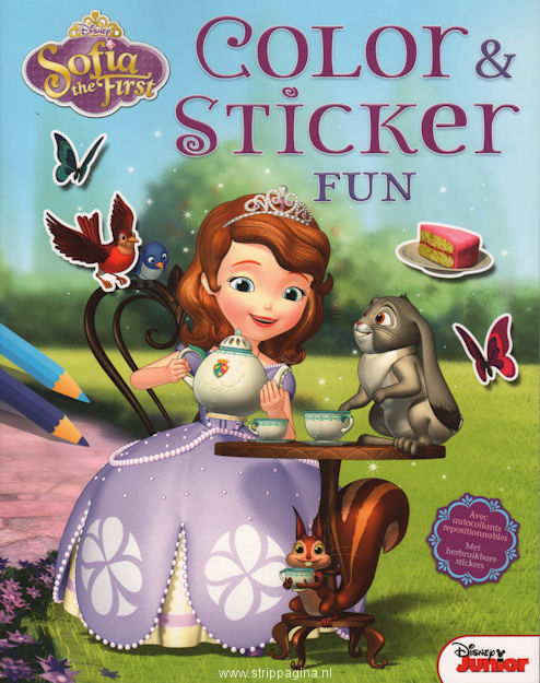 Sofia the first - Color & sticker fun