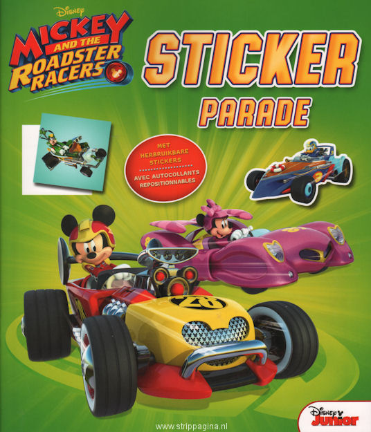Mickey and the roadster racers: Sticker parade