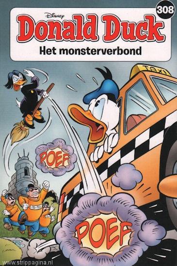 Donald Duck: 308. Het monsterverbond
