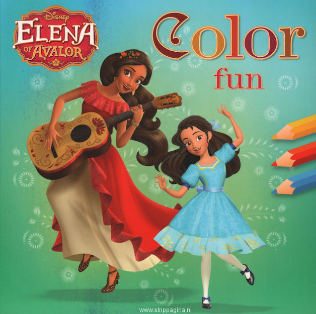 Filmstrip: SP. Elena of Avalor - Color fun (SP)