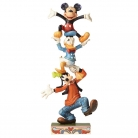 Teetering Tower (Goofy, Donald Duck & Mickey Mouse Figurine