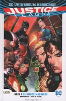 Justice league:   1. De uitroeimachines (HC)