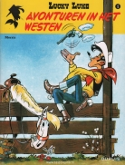Lucky Luke new look 4.  Avonturen in het westen