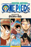One piece VOL 34-35-36